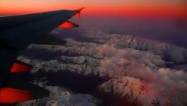 Quatar over italian Alps
